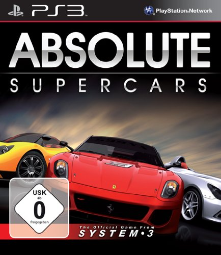 Absolute Supercars (PS3) (Playstation Spiel-system 3)