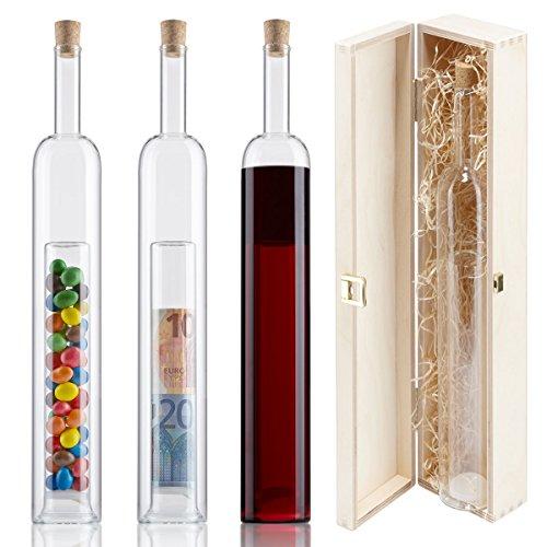 Die Beste Geschenke Flasche Mit 2 Hohlraum Holz Geschenk