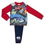 Cartoon Character Products Blaze und die Monster Machines Boys Pyjama Grö - Red Black 18-24 Months / 92 cms