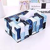 HGTYU-Ledergewerbe Papier Box Restaurant Serviette Karton Privaten Wohnzimmer Papier Box Klopapier Box B