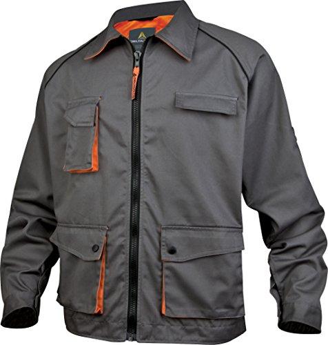 Panoply - Veste de travail mach2 en polyester / coton M2VES - Couleur : Gris / Orange - Taille : Xxl