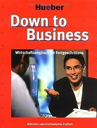 Down to Business, Arbeitsbuch u. 3 CD-Audio u. 2 Cassetten