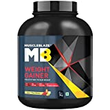#1: MuscleBlaze Weight Gainer (3kg, Kesar Pista Badam)