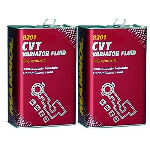 2 x 4L MANNOL CVT Variator Fluid / Automatik-Getriebeöl 236.20