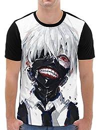 VOID Ghoul Kaneki Grafik T-Shirt Herren All-over Druck tokyo anime manga