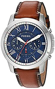 Fossil Analog Blue Dial Men's Watch - FS5210
