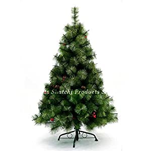 Gifts 4 All Occasions Limited SHATCHI-699 - Árbol de Navidad artificial (180 cm), color verde