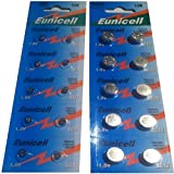 Eunicell Vertrieb Deutschland  kostenloser Versand EUNICELLBASICS Alkalibatterien Typ AG Serie AG0-AG13 AA AAA Alkaline