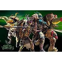 Empire merchandising 668325 TMNT - Group, de las Tortugas Ninja de las Tortugas Ninja, diseño de personajes de la película de la película de Póster, 61 x 91,5 cm de tamaño