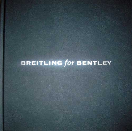 Breitling for Bentley (The greatest luxury in life is time.)
