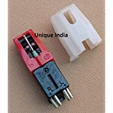 Unique India Universal Phono Turntable Stereo Ceramic Cartridge with Stylus Needle for Lp Record Player