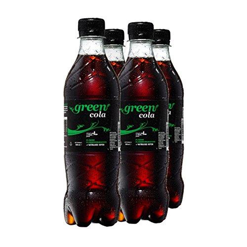 Green Cola Getränk Zuckerfrei Aspatamefrei Ohne Konservierungsstoffe Nur Natürliche Aromen inkl. Pfand (PET Flasche 0,5l 4er Pack)