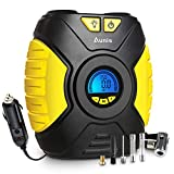 Best Auto Tire Inflators - Tyre Inflator, Aunis Portable Air Compressor Pump With Review