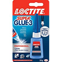 Loctite Colle forte/Super Glue 3 - Professional - 20 g