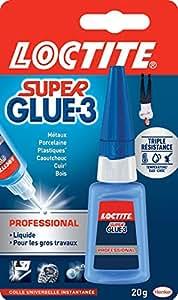 Loctite Colle forte/ Super Glue 3 - Professional - 20 g