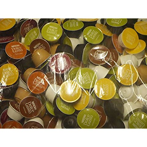 Nescaf? Dolce Gusto 5 Flavour Variety Pack (50 capsules - Sold Loose)