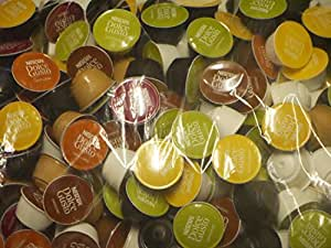 Nescafé Dolce Gusto 5 Flavour Variety Pack (50 capsules - Sold Loose)