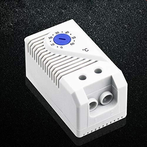 Temperaturregler Home Signal Gerät Schrank Mini kompakt mechanisch Thermostat Schalter Connect Messung Einfache Bedienung Regler Sensor Heizung Filter Lüfter, blau -