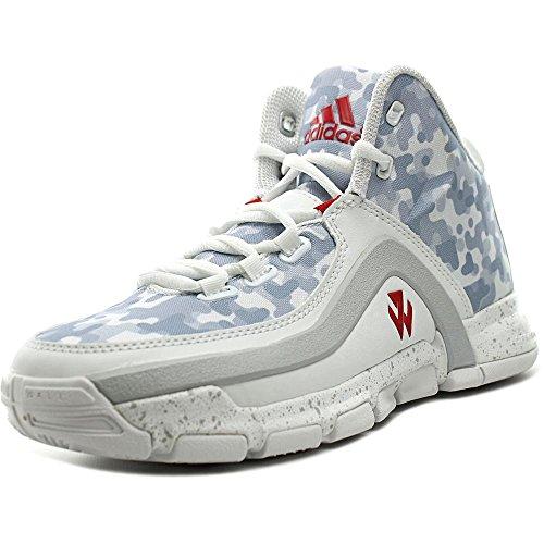 adidas Performance J Wand 2J Schuh (Big Kid), (FTW White/Scarlet/Clear Grey), 23 EU M Großes Art
