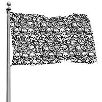 D.ADcustom Custom Skulls Wall Flags For Outdoor Indoor Home Decor (4x6 Ft)