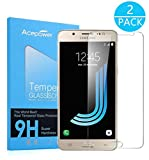 [2-Pack] Galaxy J5 2016 Screen Protector, Acepower Premium Tempered Glass Screen Protector for Samsung Galaxy J5 2016