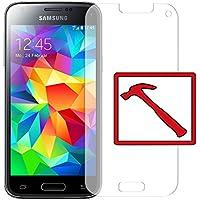"Slabo PREMIUM Panzerglasfolie Samsung Galaxy S5 mini Echtglas Displayschutzfolie Schutzfolie Folie ""Tempered Glass"" KLAR - 9H Hartglas"