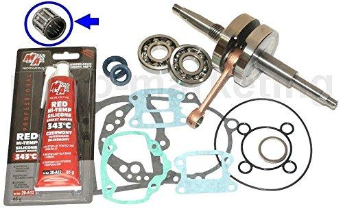 Unbranded KURBELWELLE Lager Dichtung Satz KIT Set für Peugeot SPEEDFIGHT 1 I 2 II 50 H2O Zylinderkit