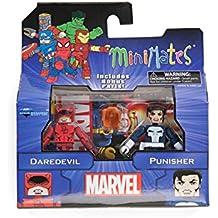 Marvel Minimates Series 2 Daredevil & Punisher 2-Pack Figura De Acción Set