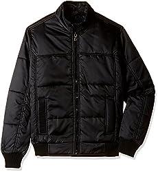 Fort Collins Mens Synthetic Jacket (10120-OL_Medium_Black)