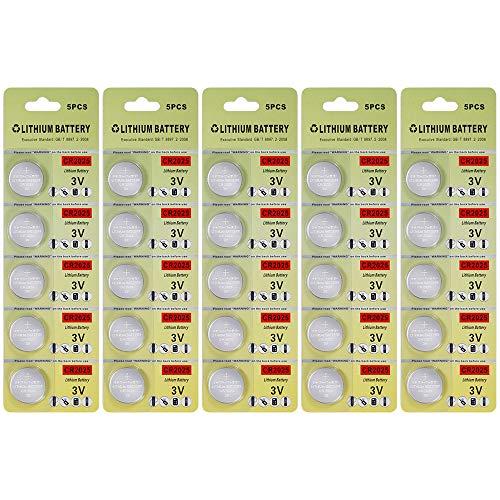 25 packung batterien cr2025 3v lithium - cr2025