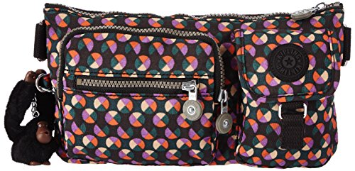 Kipling Umhängetasche, Presto, mehrfarbig Party Dot Pr P (Bag Laptop-messenger Kipling)