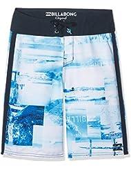 Billabong Horizon og Boys 17'5Shorts de baño de niño, Niño, color azul marino, tamaño 14 años