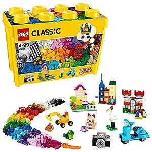 LEGOClassicScatolaMattonciniCreativiGrande,SetdiCostruzioniDivertenti,ContenitoreGiocattoliColorati,10698 5054814619373 LEGO