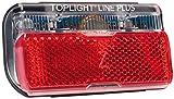Rücklicht b&m Toplight Line brake plus Bremslichtfunktion und Standlicht,50mm