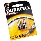 foto-kontor Duracell LR1 Lady MN9100 1,5V Alkali Batterie ersetzt folgende Zellen LR1 4001 MX9100 910A E90 2er Blister