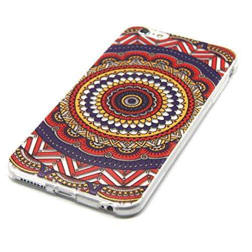 Voguecase® für Apple iPhone 5C, Schutzhülle / Case / Cover / Hülle / TPU Gel Skin (NEW YORK) + Gratis Universal Eingabestift Bunt Teppich 02