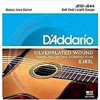 D'Addario EJ83L Set Corde Acustica Jipsy Jazz