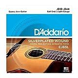 D'Addario EJ83L Jazz-Saitensatz für Akustik-Gitarren 0,025 cm - 0,11 cm (.010 - .044 Zoll)