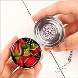 Providethebest Acciaio inossidabile condimento sfera semplice pratico / morsetti facilmente stretto per mantenere Tè o spezie Sicuro 4 * 4.5cm