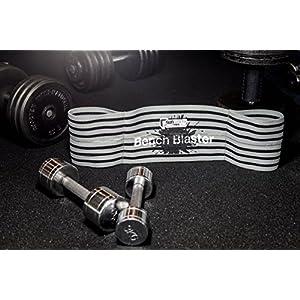 Bench Blaster Trainingsequipment Brust-Gürtel für Crossfit Gewichtheben Powerlifting Bankdrücken Fitness Gewichte- und Krafttraining Liegestütze Dips Bodybuilding Muskelaufbau