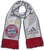 adidas Herren FC Bayern 3rd Schal, White/Light Onix, OSFM