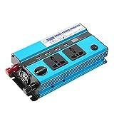 KKmoon 500W Auto-Wechselrichter DC 12V zu Wechselstrom 110V 60Hz mit
