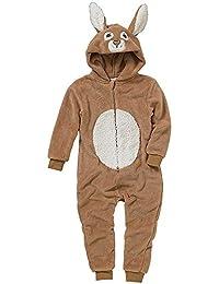 Combinaison Pyjama Lapin Animal Crazy Garçon Polaire Douillet