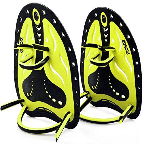 ZIONOR HP1 Palas de natación aletas correa ajustable de silicona...