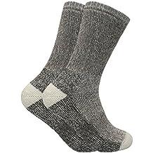 Sock Snob 2 pares mujer calientes invierno lana senderismo trekking calcetines en 4 colores