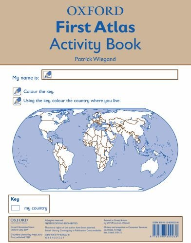 Oxford First Atlas Activity Book