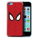 Stuff4 Coque de Coque pour Apple iPhone 5C / Spider-Man Masque Inspiré Design/Super...