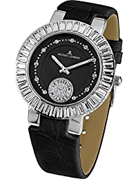 Jacques Lemans Damen-Armbanduhr Milano Analog Leder 1-1683A