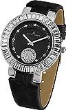 Jacques Lemans Damen Analog Quarz Uhr mit Leder Armband 1-1683A