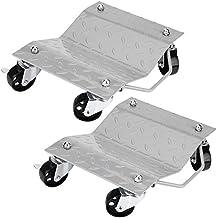 GOTOTOP Set de 2 Patines de Neumáticos Rodamientos de Bolas Camilla Plataforma para Reparación de Coche